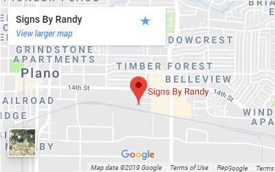 Google Map of Signs By Randy